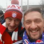 Kibicowali Bayernowi!